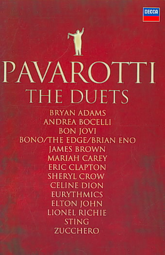 DUETS BY PAVAROTTI,LUCIANO (DVD)